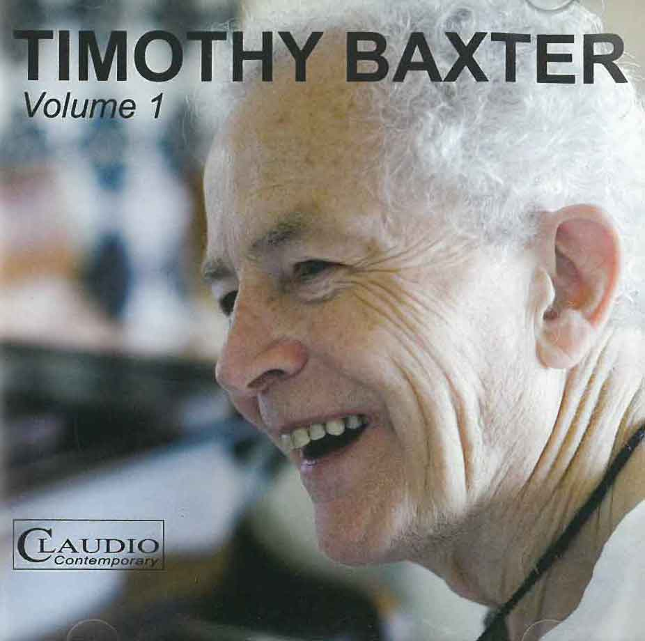 Timothy Baxter: Volume 1
